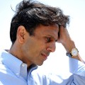 Jindal listens to reporters on BP oil spill