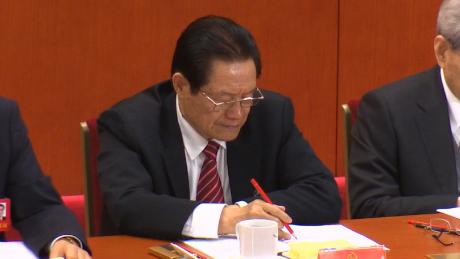 Zhou Yongkang at China's NPC.