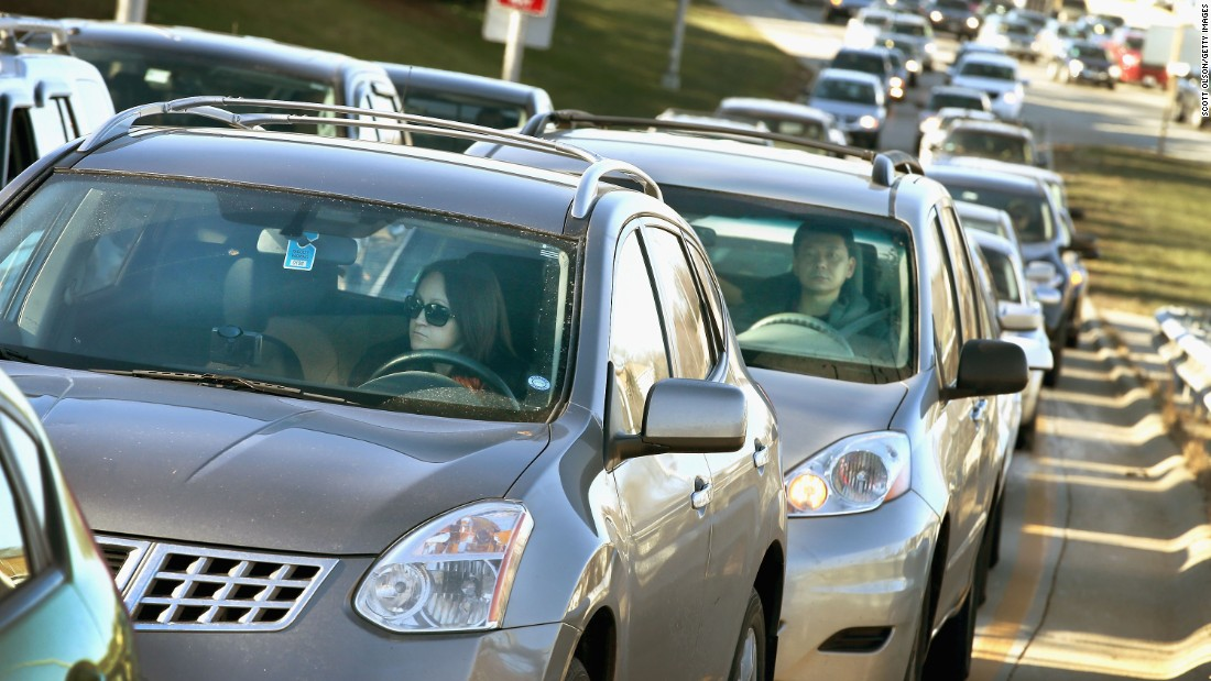 Being stuck in a traffic jam can increase stress hormones significantly and is best avoided, where possible.