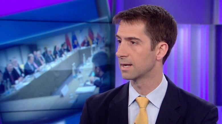 Cotton: Striking nuke facilities better than Iran deal