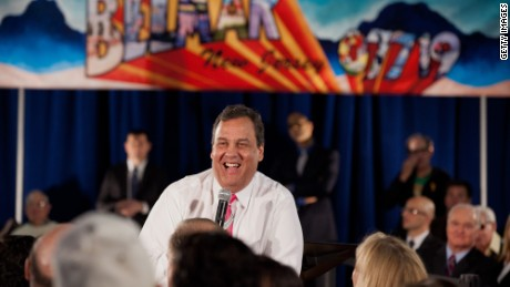 Chris Christie: The 9 stages of a town hall meeting