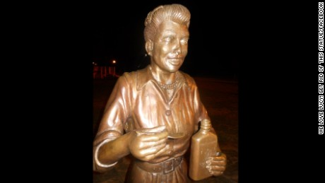 Lucille Ball Statue Celoron Ny