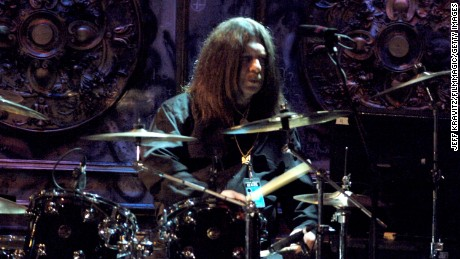 Bob Burns, one of the founders and original drummer of legendary southern rock band Lynryd Skynyrd, performs during 21st Annual Rock and Roll Hall of Fame Induction Ceremony March 13, 2006 at The Waldorf-Astoria in New York, NY . Burns died in a single car crash in Bartow County, GA., late Friday, April 3, 2015.