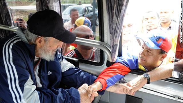 Fidel Castro reaparece en la Habana en una escuela de Primaria