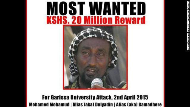 Kenia identifica al autor intelectual del ataque en universidad de Garissa