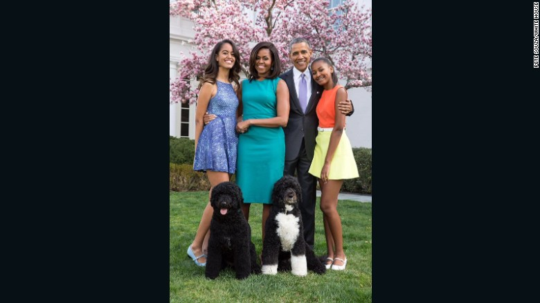 new obama family portrait unveiled gbcn