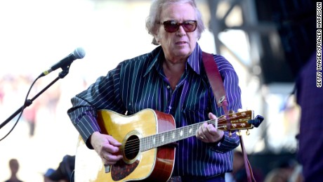 """Don McLean performs in 2014. His song """"American Pie"""" goes up for auction Tuesday."""
