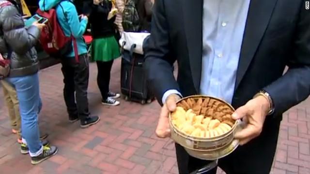 Las galletas se abren espacio en el mercado negro de Hong Kong