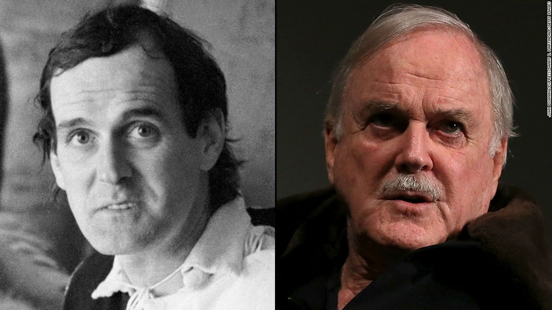 "John Cleese, now 74, created and starred in the immortal TV show ""Fawlty Towers"" in the 1970s and co-founded Video Arts, a company that makes training films. Younger viewers may know him best for his roles in the ""Shrek"" films (as King Harold), a pair of James Bond films (as Q) and the Harry Potter series (as Nearly Headless Nick). He's due to appear in ""Absolutely Anything,"" a film directed by Python cohort Terry Jones, which also features Robin Williams in his last role."