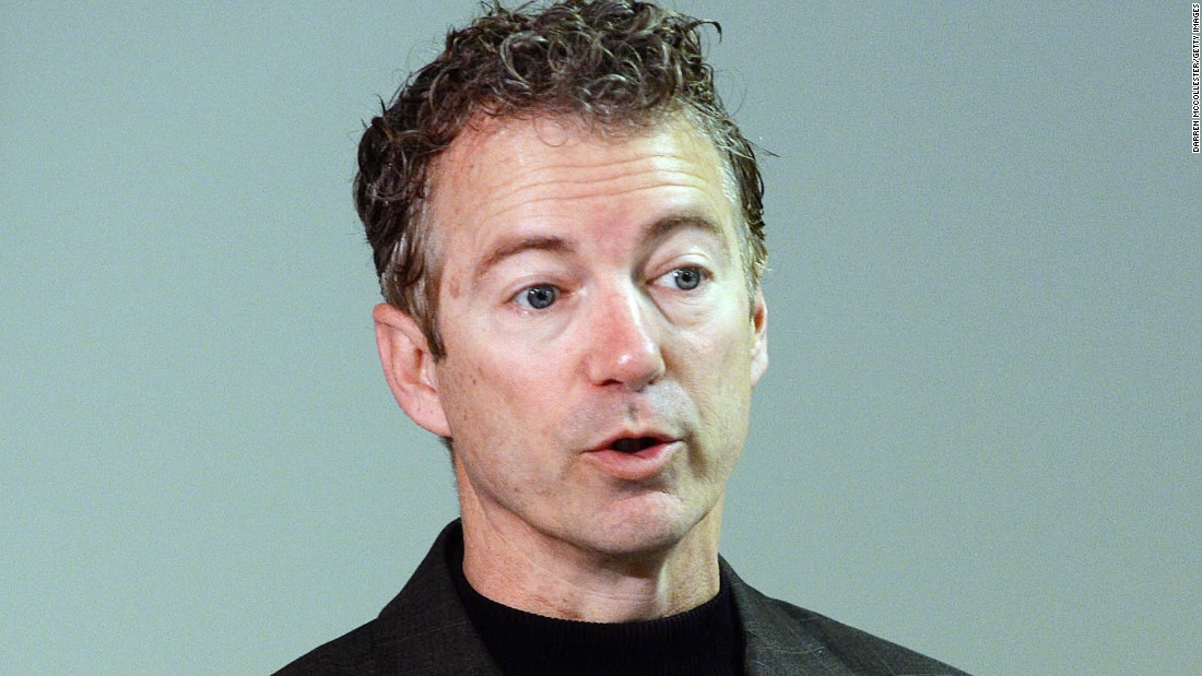 "Sen. Rand Paul, R-Kentucky, officially <a href=""http://www.cnn.com/2015/04/07/politics/rand-paul-president-2016/"" target=""_blank"">announced</a> his presidential bid April 7 at a rally in Louisville. Paul is the son of former presidential hopeful Ron Paul of Texas. <br /><br />""Today I announce with God's help, with the help of liberty lovers everywhere, that I'm putting myself forward as a candidate for President of the United States of America,"" Paul said at the rally."