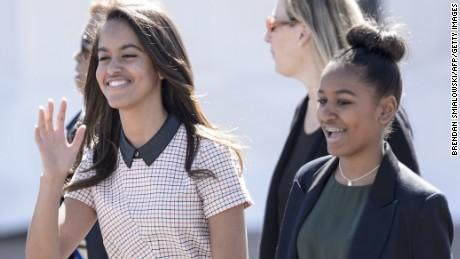 How they've grown! Sasha and Malia Obama: 2008-present