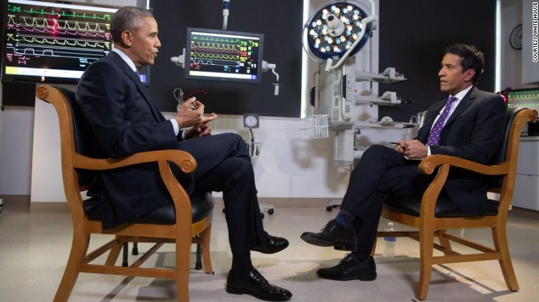 Sanjay Gupta interviews President Obama