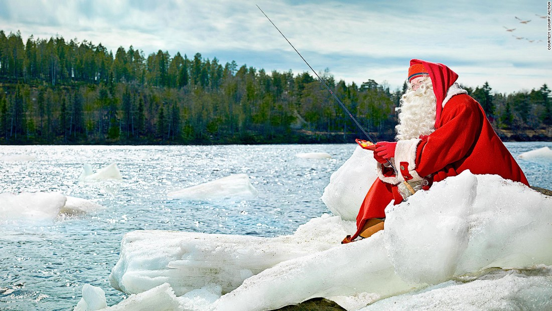 OK, you get the picture here. Santa's still going to be there when the snow starts to thaw. Luxury Action says its year-round experiences might appeal to people in warmer countries who prefer to escape their own scorching summers and head to cooler climes.
