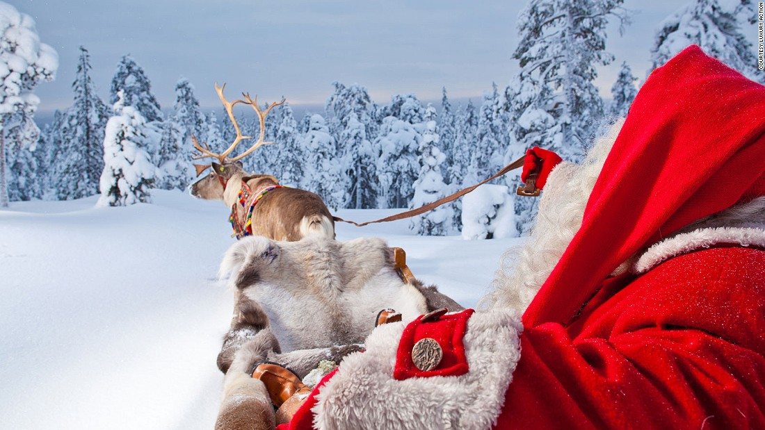 For those who can wait until December, the traditional Christmas experience in Lapland, complete with reindeer sleigh rides, is still available.