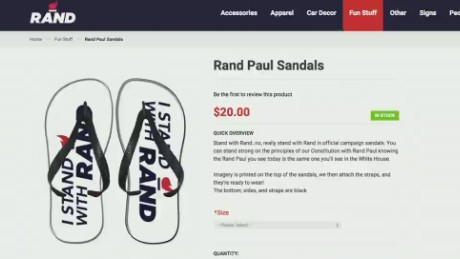 NewDay Inside Politics: Rand's campaign store selling flip flops_00002318