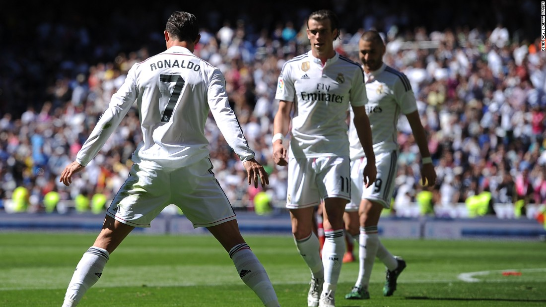 Ronaldo grabbed a first-half hat-trick against Granada and went on to net five times in a 9-1 demolition job by Real.