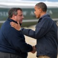 Christie- 2012 Hurricane Sandy Obama