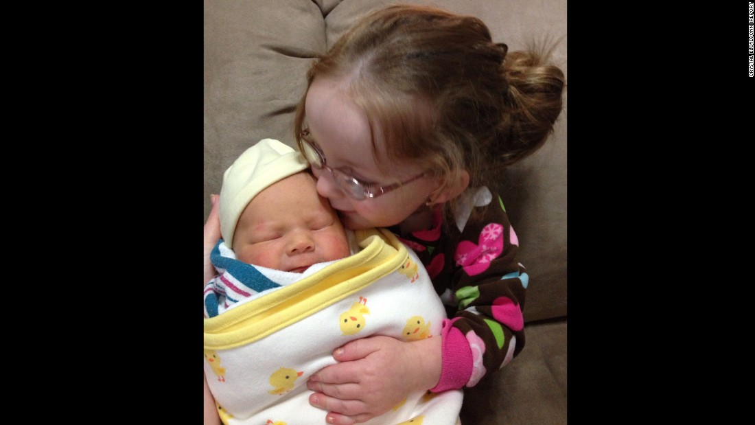 """""""Anna thought it was very strange that her new toy baby moved and made noises. She also kept asking when the baby's mommy was going to come get her."""" -- <a href=""""http://ireport.cnn.com/docs/DOC-1231867"""">Crystal Lloyd</a>, Ridgecrest, California"""