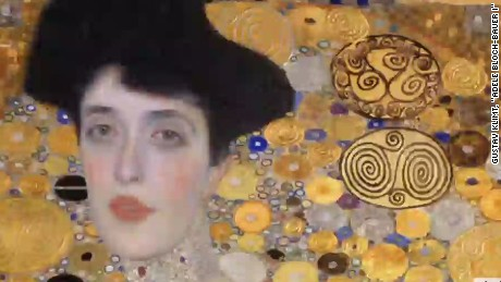 cnni newsroom woman in gold portrait burris_00024621