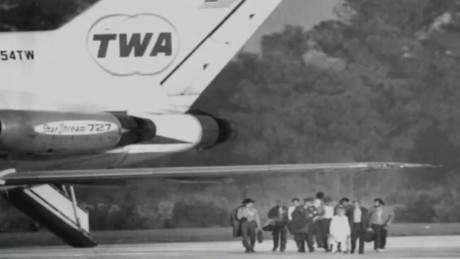 The hijackers ordered the plane to Cuba after hearing it did not have enough fuel to get to Africa.