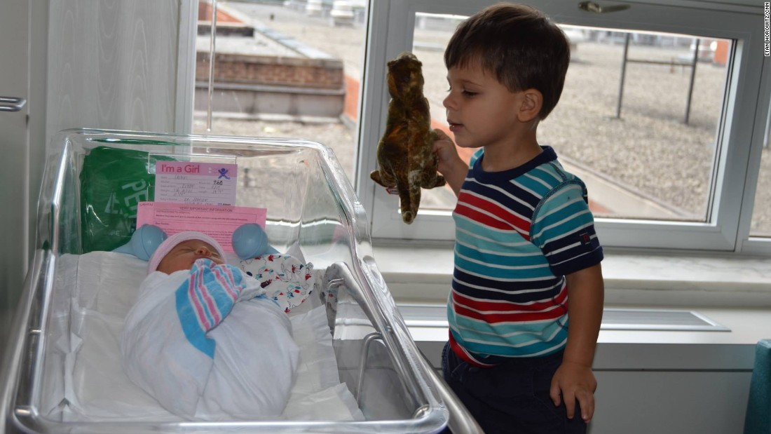 """""""The fact that Jack is showing Lucy his precious dinosaur is proof of the immediate bond between brother and sister."""" -- <a href=""""http://ireport.cnn.com/docs/DOC-1232457"""">Etan Horowitz</a>, Atlanta, Georgia"""