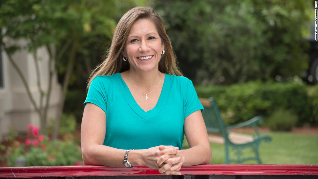 The politico - Amanda Renteria, who unsuccessfully ran for Congress in 2014 in Calfornia, will serve as Clinton's national political director. She was the first Latina chief of staff on Capitol Hill when she worked for Michigan Sen. Debbie Stabenow in 2008.