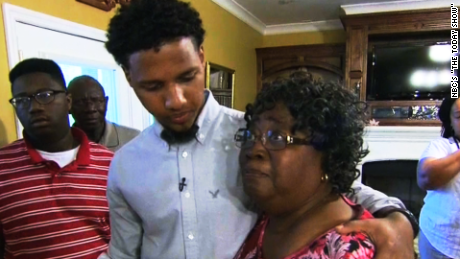 Victim's family meets man who filmed son's death