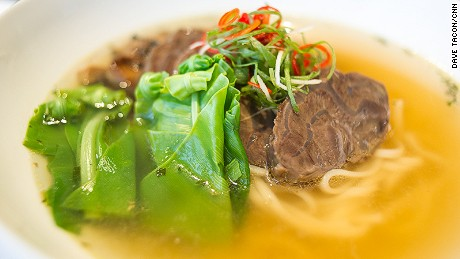 The Regent Taipei is a multiple award winner at the Taipei Beef Noodle Festival and features a number of acclaimed beef noodle soups at its Azie restaurant.