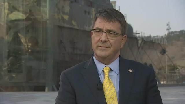 Ashton Carter: No se descarta ataque a Irán si no cumple con acuerdo nuclear