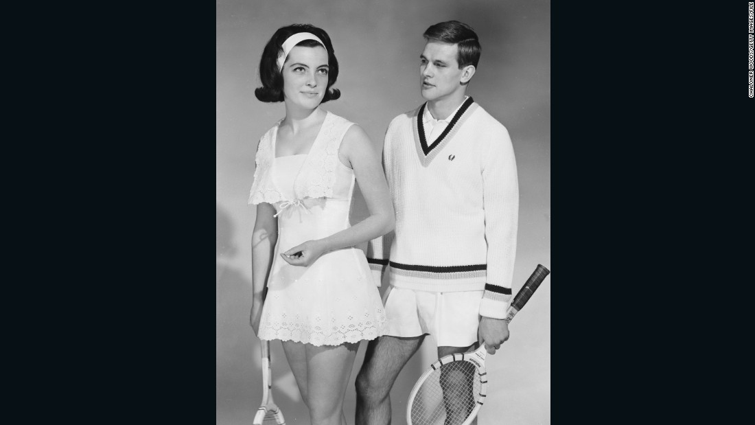 gallery tennis fashion history