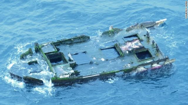 Encuentran en Oregón posibles restos del tsunami de Japón