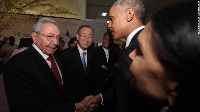 """Obama """"no tiene nada que ver"""" con el embargo de EE.UU. a Cuba: Raúl Castro"""
