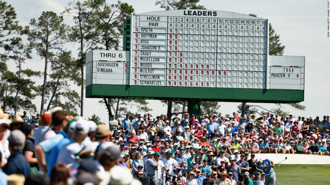 Saturday is known as Moving Day, the business end of the Masters.
