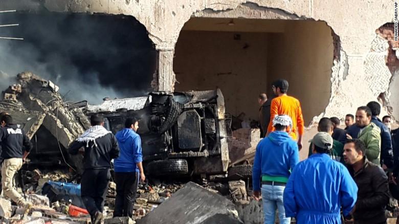 Cadena de atentados deja una docena de muertos en Egipto