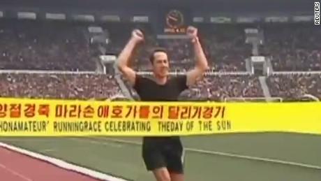 cnni pkg king north korean marathon_00012709