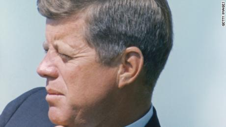 Portrait of President John F. Kennedy, circa 1960s. (Photo by Fotosearch/Getty Images).