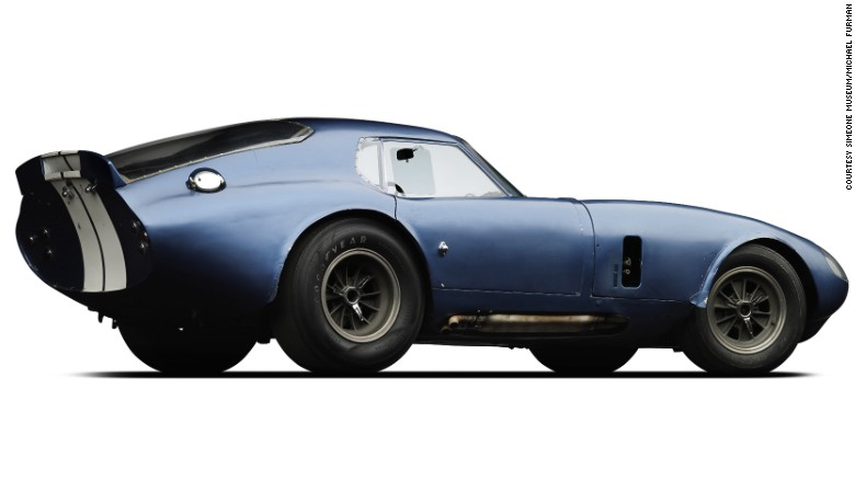 The original Shelby Cobra Daytona Coupe prototype, chassis number CSX2287, designed in 1963 and built in 1964 [780x438]