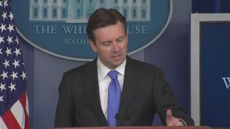 Josh Earnest White House Briefing Obama Hillary Endorsement_00002602