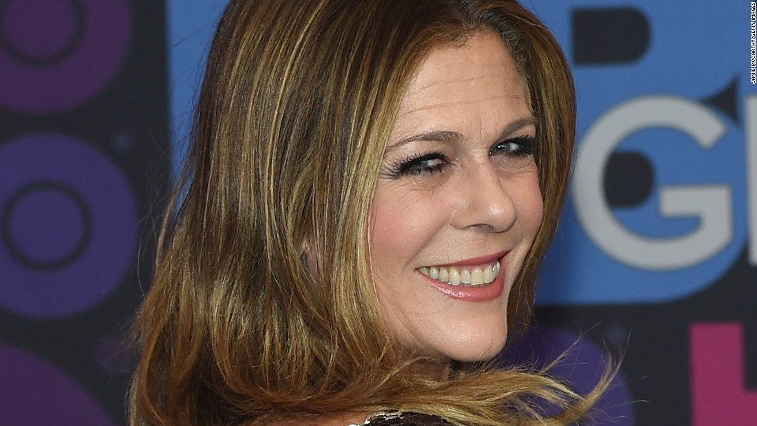 "Actress Rita Wilson, who can be seen on HBO's ""Girls,"" revealed April 14 that she is fighting breast cancer and has undergone a double mastectomy. She thanked her family, including husband Tom Hanks, and doctors for their support in a<a href=""http://www.people.com/article/rita-wilson-breast-cancer-double-mastectomy-reconstruction"" target=""_blank""> statement to People magazine</a>."