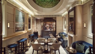 The Champagne Room: Proving classic and modern aren't mutually exclusive.