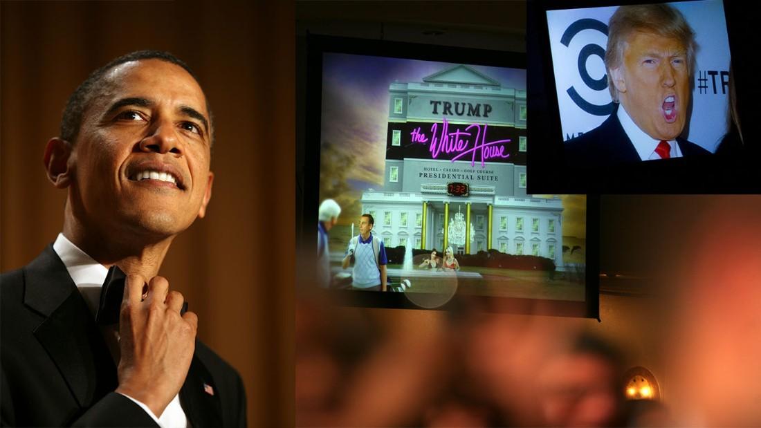 Myers' hits at the 2011 dinner. President Barack Obama mocked Trump ...