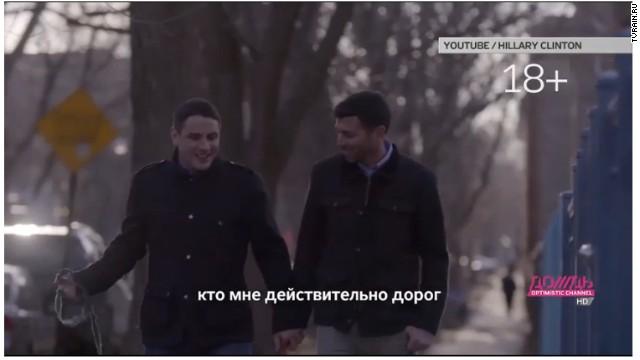 El video de Hillary Clinton, considerado como 'solo para adultos' en Rusia