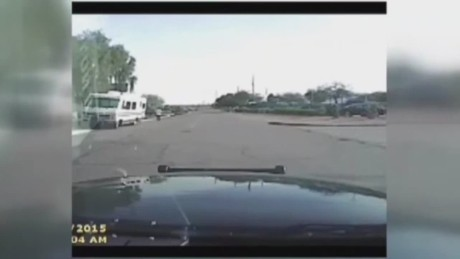 arizona police video cruise rams suspect_00002413