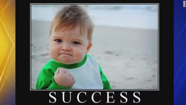 El niño del meme 'Success kid' busca un riñón para salvar a su padre