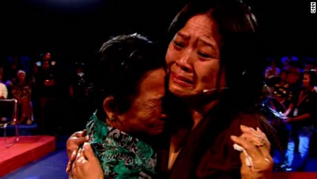 Cambodian-American Ly Sivhong is reunited with her mother, deacdes after she believed she had been killed.
