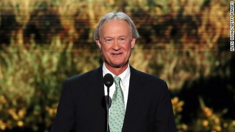 Chafee joins Democrats' 2016 race
