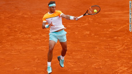 """The King of Clay"" has racked up 46 singles title wins on his favored playing surface over the years -- only Guillermo Vilas, with 49, has a better record on clay."