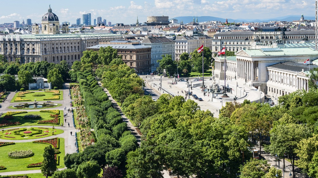 Vienna tops Mercer's quality of life list for the seventh year running. It's a far cry from the city at the bottom of the list...