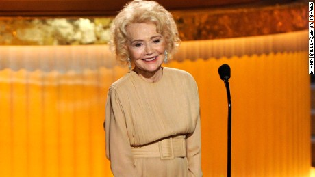 Actress Agnes Nixon speaks onstage at the 37th Annual Daytime Entertainment Emmy Awards held at the Las Vegas Hilton on June 27, 2010 in Las Vegas, Nevada.  (Photo by Ethan Miller/Getty Images)