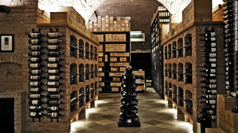 The cellar of the Palais Coburg Hotel features the largest Chateau Rothschild wine collection outside France.